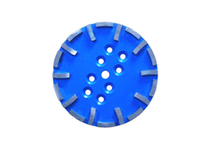 Blue Grey  10'' Diamond Cup Wheel Grinding Head for Concrete Brick Block